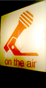 On the Air in the Studio